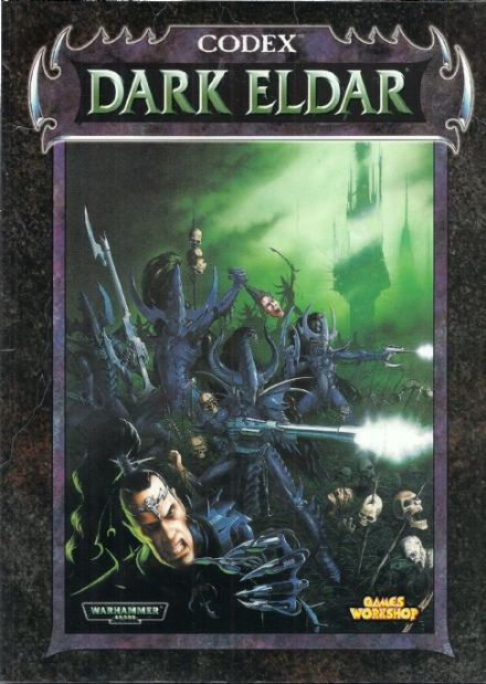 Dark Eldar Codex Rulebook 1998